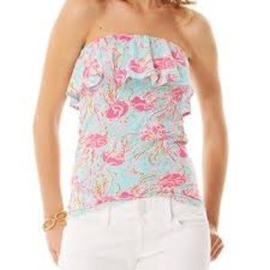 Jamming Jelly Lilly Pulitzer Tube Top